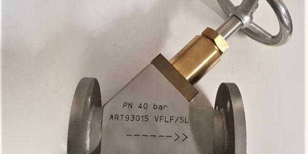Válvula PN 40 hecha a mano